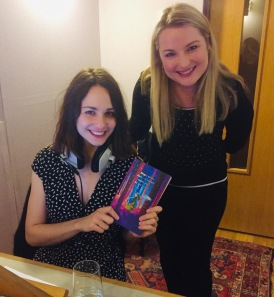 With Tuppence Middleton who does the audio books